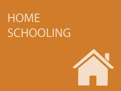 Home schooling button