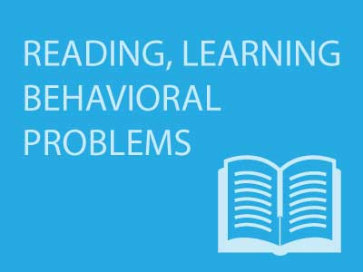Reading Learning and Behavioral Problems || Research has